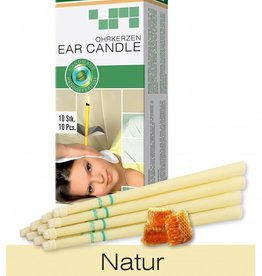 Naturhelix Oorkaarsen Naturel (zonder geur) 10 stuks