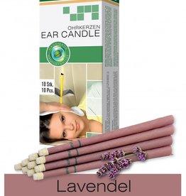 Naturhelix Oorkaarsen Lavendel 10 stuks