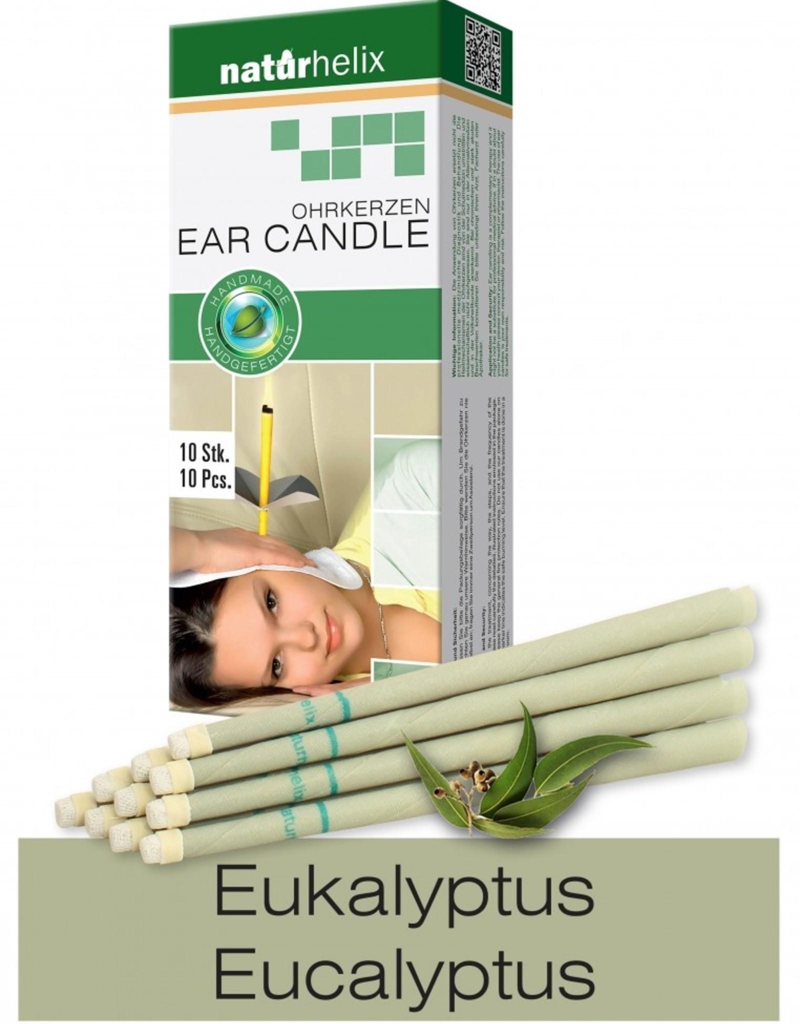 Naturhelix Oorkaarsen Eucalyptus 10 stuks