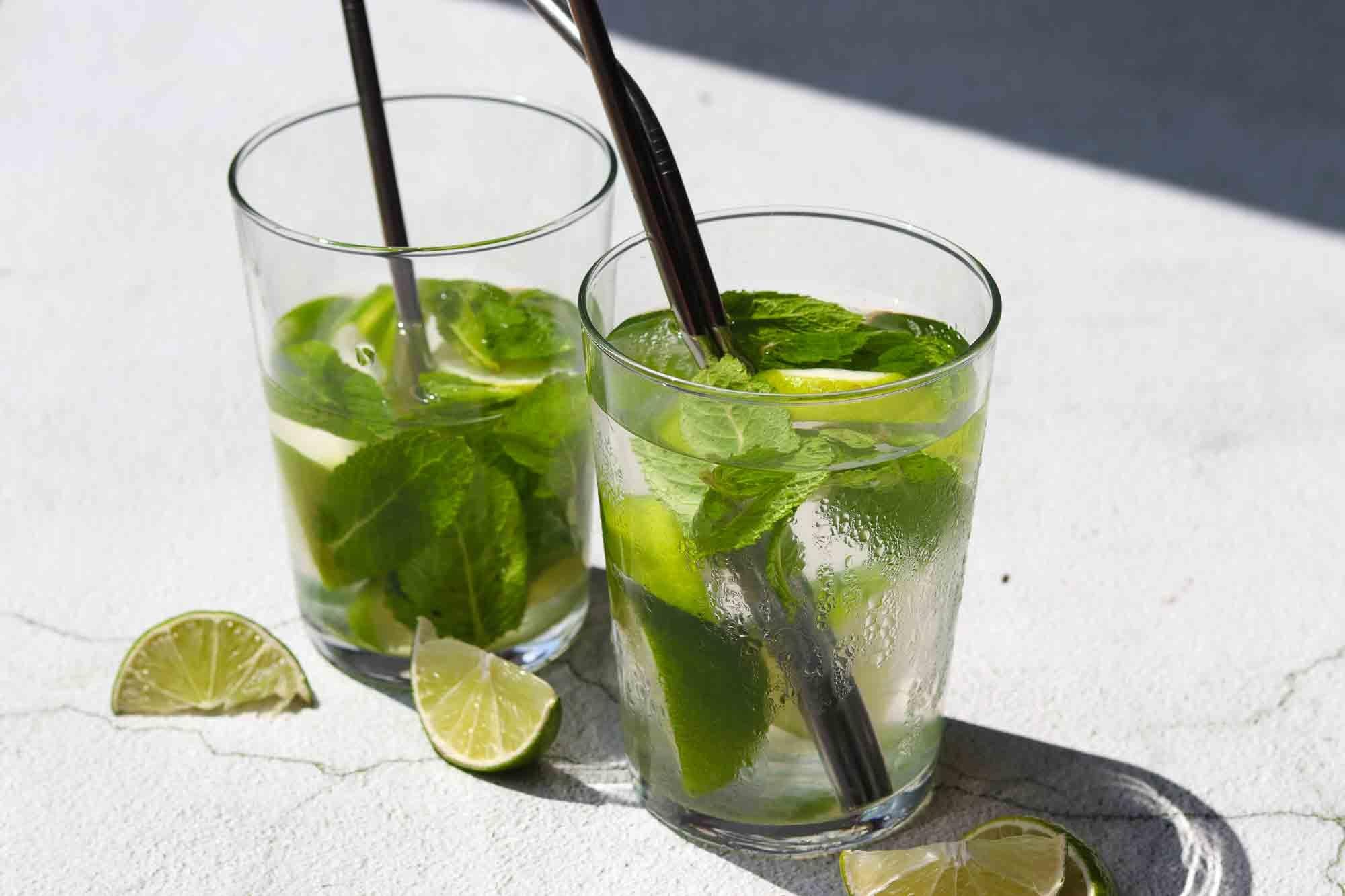RECEPT:  Alcoholvrije waterkefir mojito