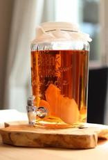 Mani Vivendi Glazen 3 liter kombuchapot met aftapkraan