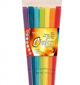 Naturhelix Naturhelix Chakra lichaamskaarsen spectrum. 7 kleuren