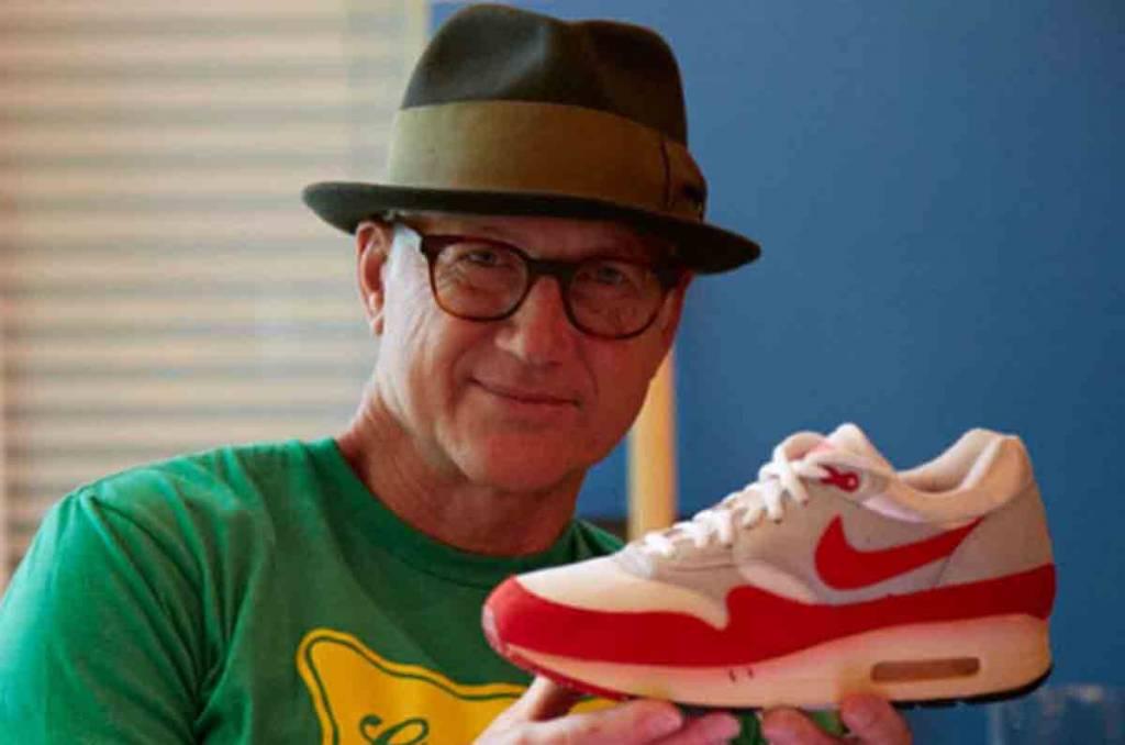Nike-ontwerper Tinker Hatfield in nieuwe Netflix documentaire