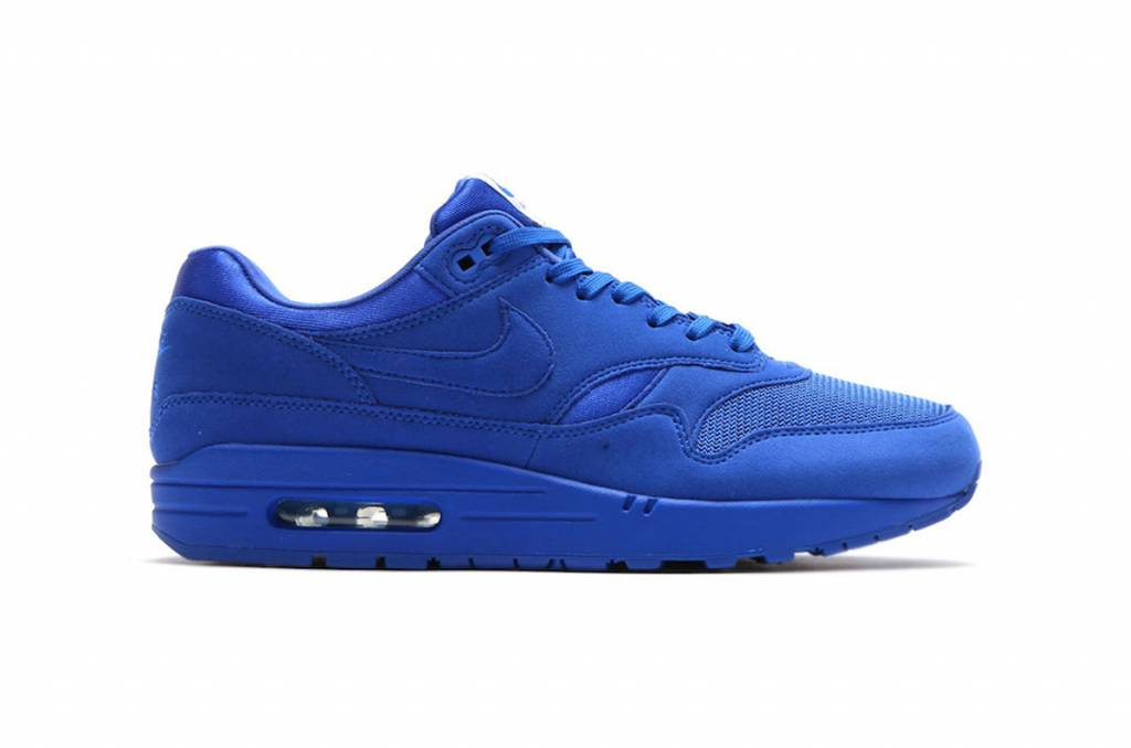 f298fc132fcc50 Nike Air Max 1 Premium  Sport Blue  - Sizes 10 and up - Tenandup