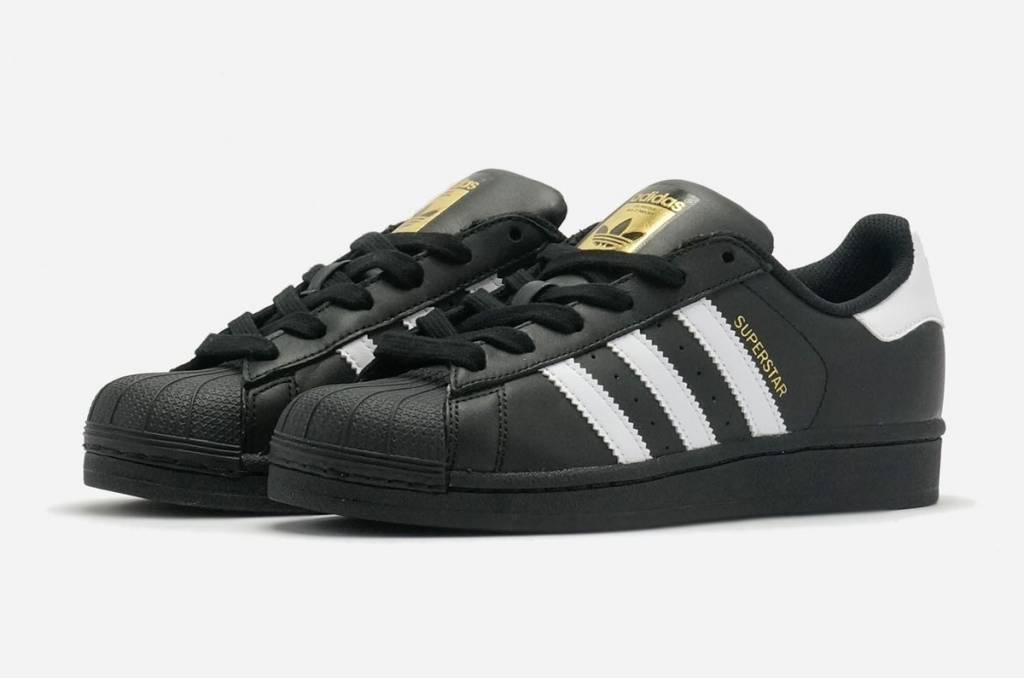 adidas superstar foundation noir