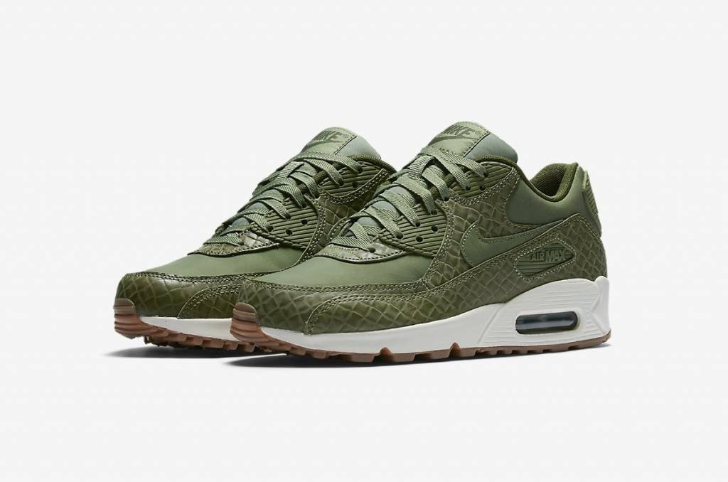 photos officielles ab3b0 dc1bf Nike Nike Air Max 90 Premium WMNS 443817-301