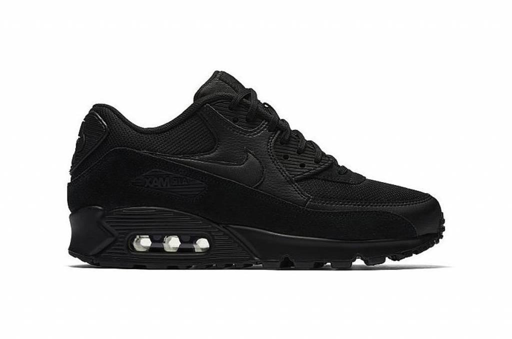 info for 5c5c3 5d1e9 Nike Air Max 90 WMNS BlackBlack 325213-043
