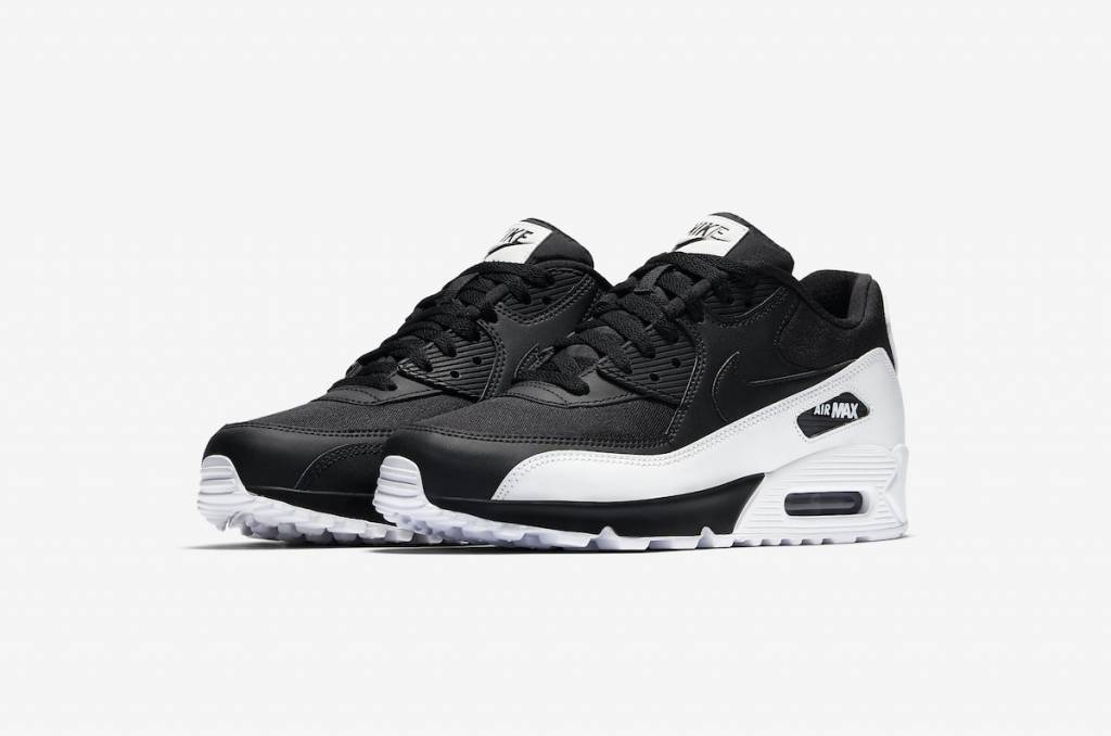 b62dfcd4e31 Nike Air Max 90 Essential Black White - Sizes 10 and up - Tenandup
