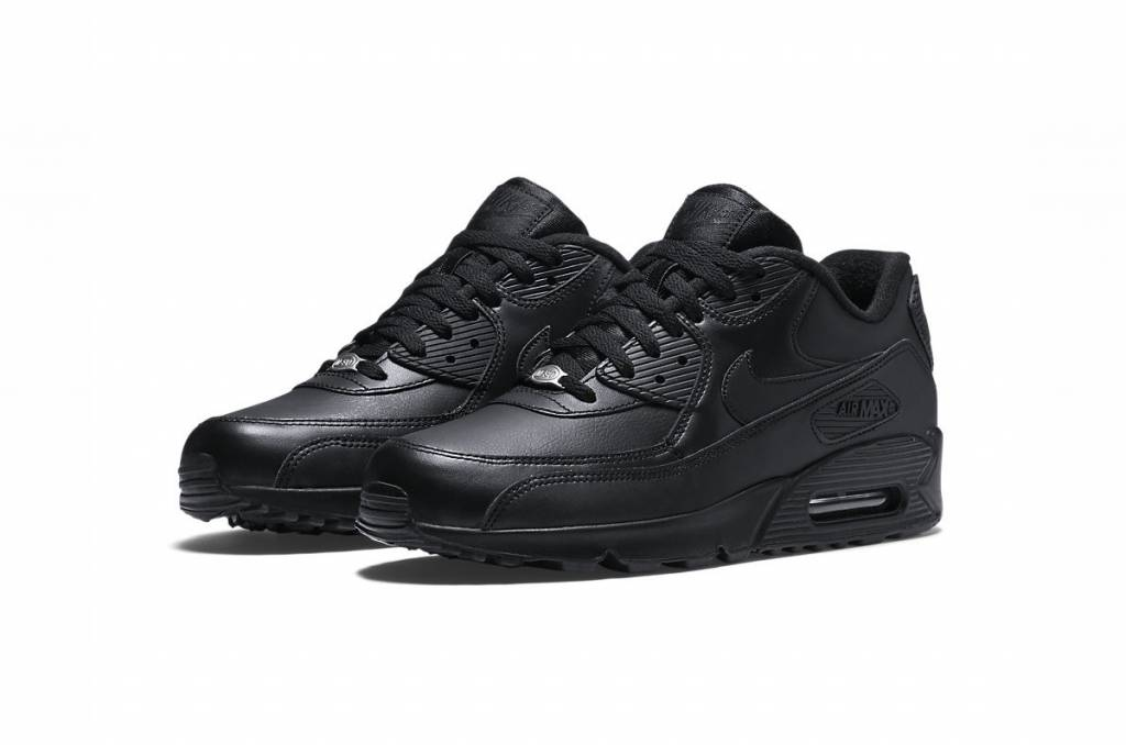 release date: ba4e3 292a1 Nike Air Max 90 Leather 302519-001