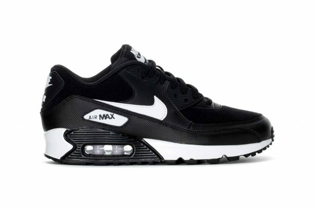 47e738a7176eb3 Nike Air Max 90 WMNS - Black   White - Sizes 10 and up - Tenandup