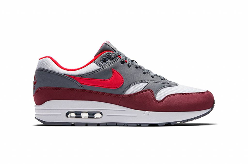 Nike Air Max 1 AH8145-100 (White/University Red)