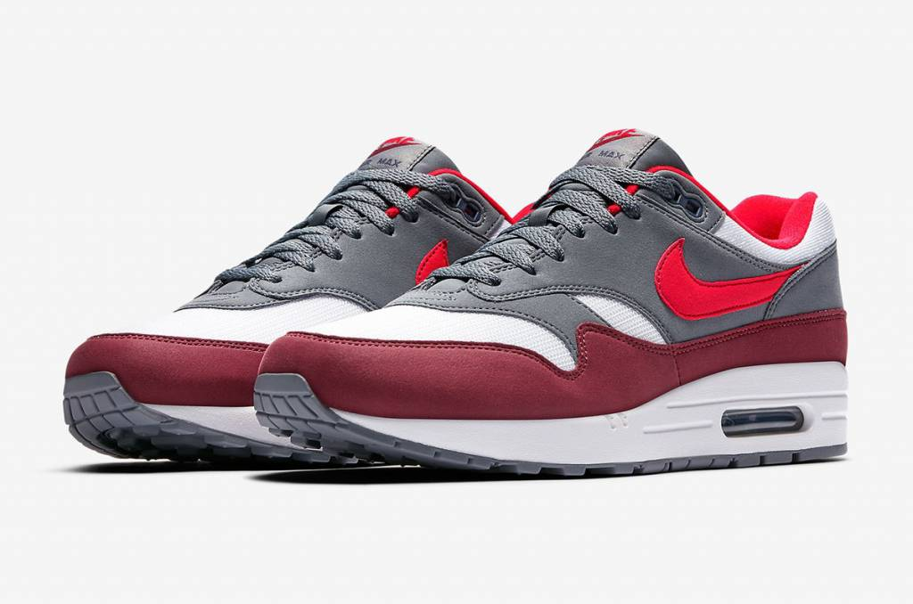 9e3af37a7b071 Nike Air Max 1 AH8145-100 (White University Red) - Size 10 and up ...