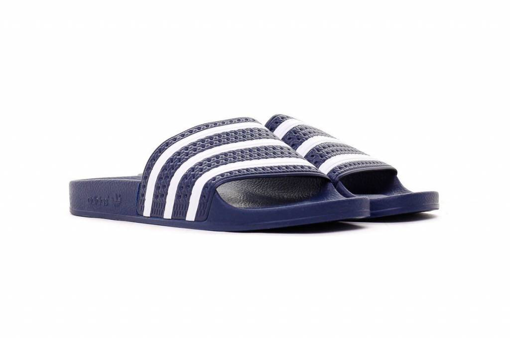 new high buying now get online Adidas Adilette Slippers (Navy) 288022 - Size 44 t / 51