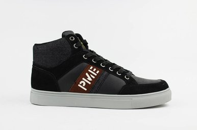 Frame Mid Sneakers (Black)