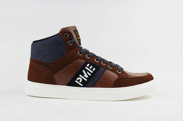 Frame Mid Sneakers (Cognac)