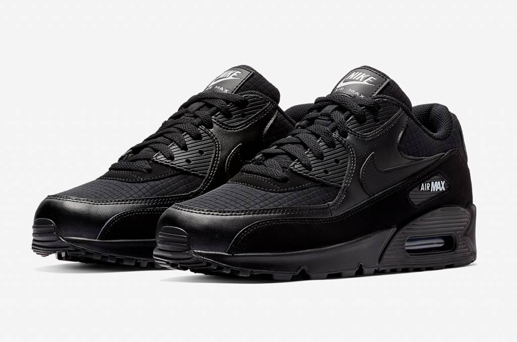 0b730a53f4e72 Nike Air Max 90 Essential (Black) - Size 10 and up - Tenandup