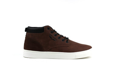 Mid Sneaker (Cognac)