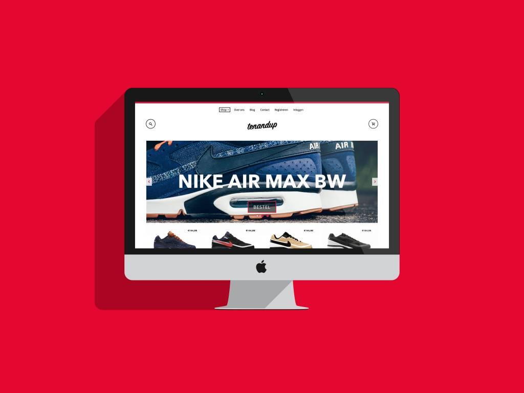 Nieuwe webshop Tenandup succesvol gelanceerd