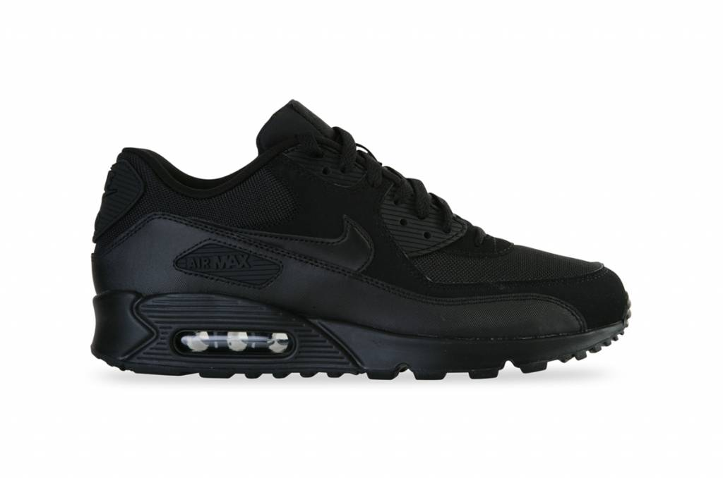 more photos 59fd2 1acc0 Nike Air Max 90 Essential (Black/Black) - Sizes 10 and up
