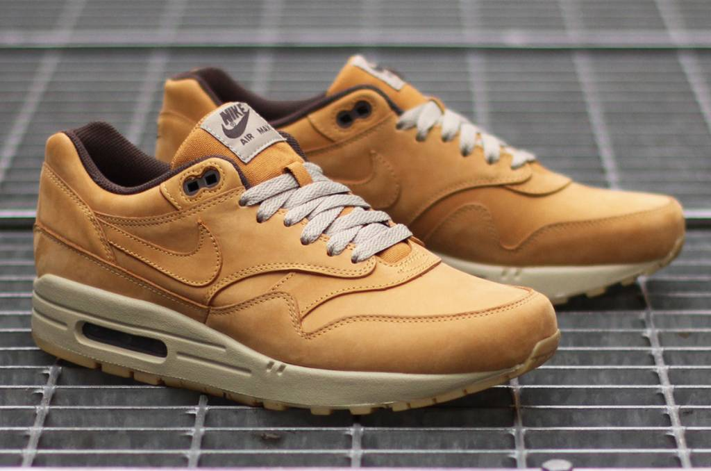 separation shoes 89c7f 3bd4b Nike Air Max 1 Leather Premium  Wheat  705282-700