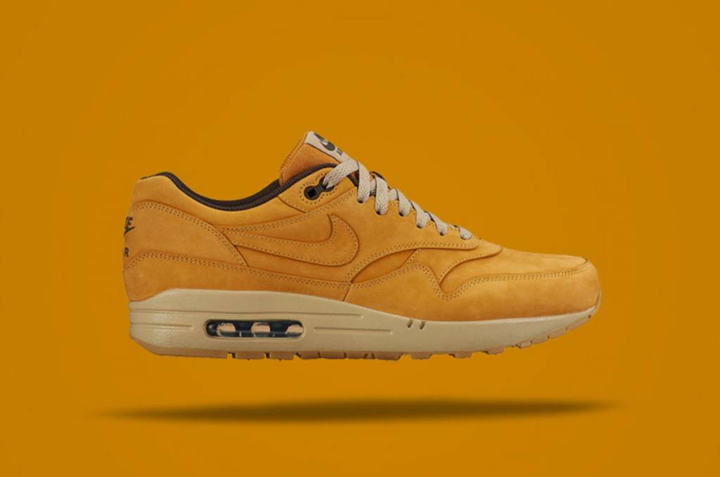 huge selection of f8499 f0970 Nike Air Max 1 Leather Premium Wheat 705282-700
