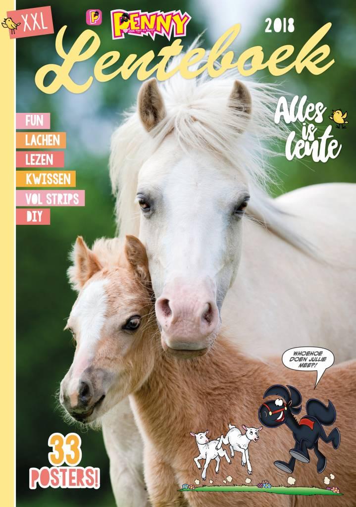 Lenteboek 2018 + Veulen stripalbum