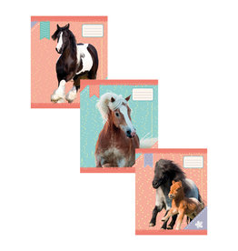 3 x Schriften I love horses