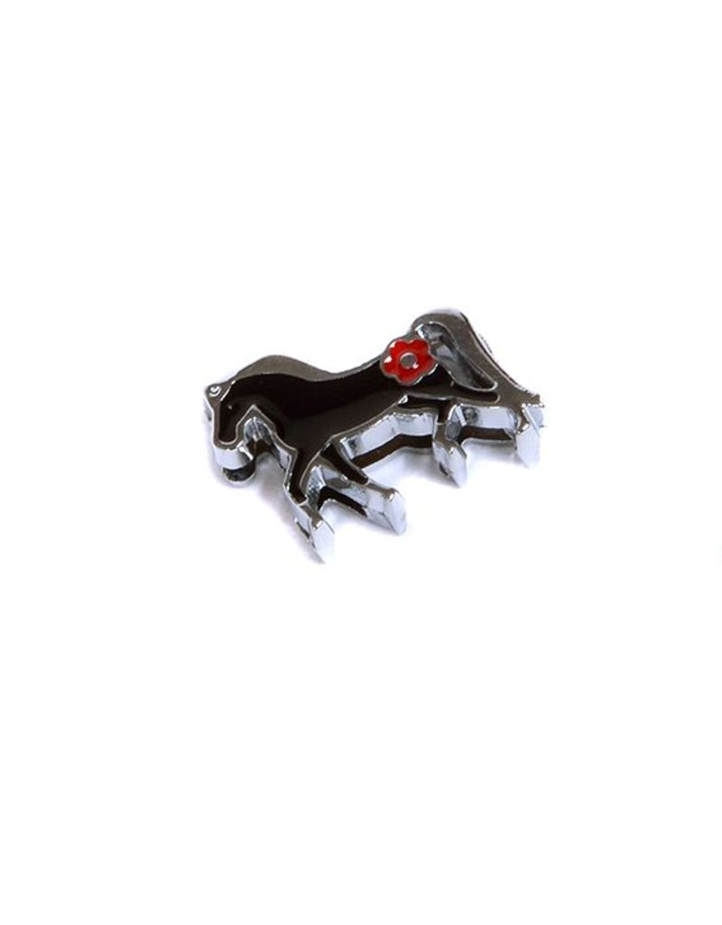 Bedeltje 3 - Zwart Paardje