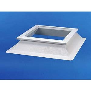 Skylux® PVC Opstand 16/20 vierkant 30x30 cm