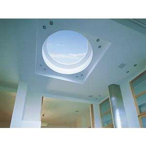 Skylux® Ronde lichtkoepel 50cm Polycarbonaat of Acrylaat