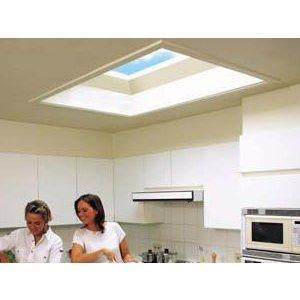 Skylux® Piramide lichtkoepel vierkant 60x60 cm Polycarbonaat of Acrylaat