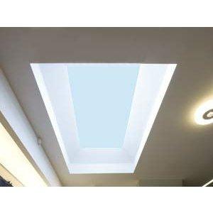 Skylux® Bolvormige lichtkoepel rechthoek 130x230 cm Polycarbonaat of Acrylaat
