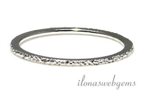 Sterling zilveren ring stardust