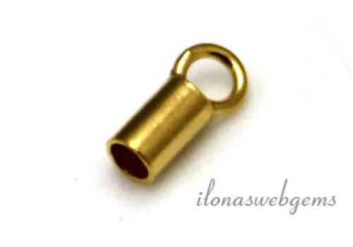 Vermeil eindkapje 2mm