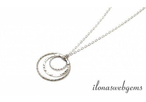 Inspiration Necklace: Sterling silver fantasy eyes
