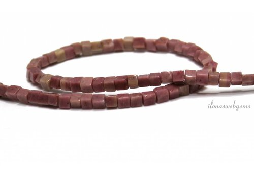 Rhodochrosite beads approx. 5mm