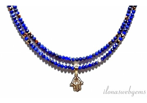 Inspiration: Lapis Lazuli necklace