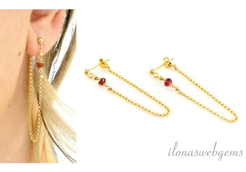 Inspiration: Earrings with chain