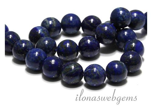 Lapis lazuli beads around 16mm