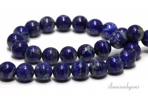 Lapis lazuli beads around 14mm