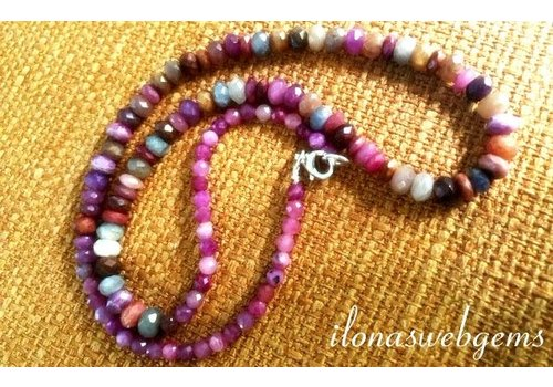Inspiration: Colorful Sapphire necklace
