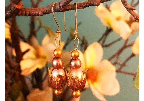 Inspiration: Ohrringe mit Perlen
