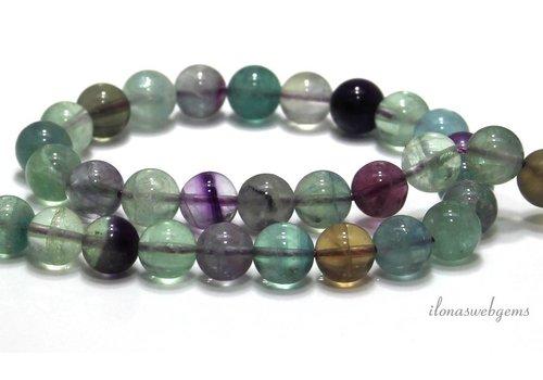 Fluorite beads around 10mm