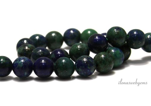Chrysokoll Perlen um 6mm