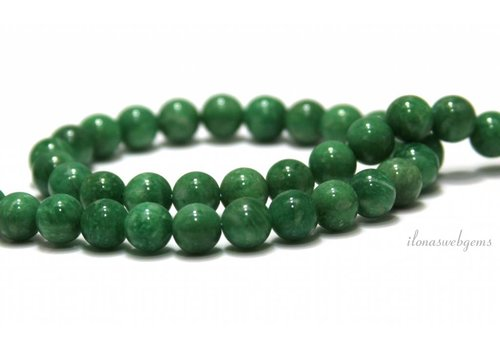 Russian Amazonite beads around 8mm