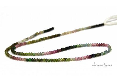 Tourmaline beads facet around 2.2mm