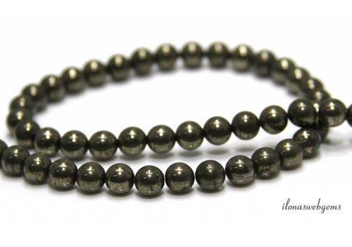 Pyrite beads around 6mm