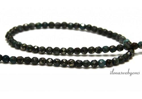 Pyrit Perlen um Facette etwa 4 mm