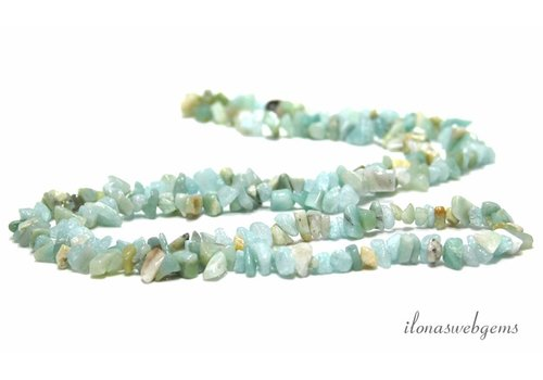 Amazonite beads split app. 7.5mm