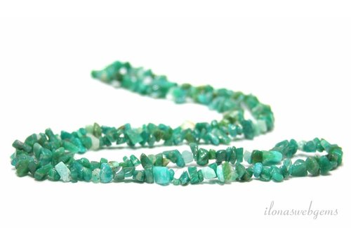 Russian Amazonite split beads fine 5mm